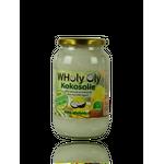 WHoly Oly kokosolie 1000 ml - extra virgin kwaliteit niet ontgeurd