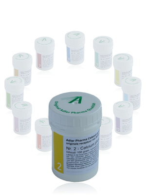 Dr. Schussler Celzout 02 Calcium phosphoricum - Adler