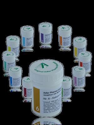 Dr. Schussler Celzout 06 Kalium sulfuricum - Adler